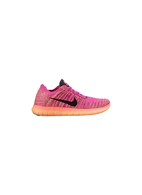 Nike Nike Free Rn Flyknit (Gs) Kırmızı